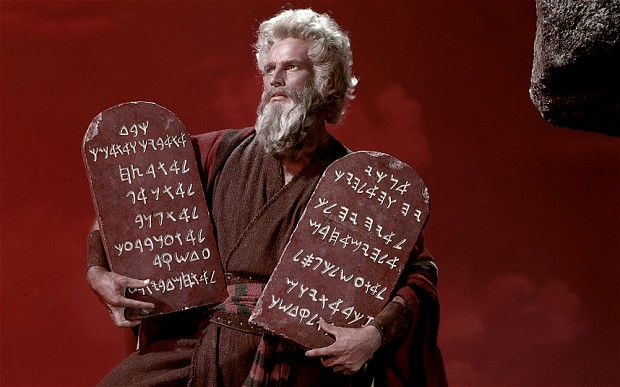 Charlton Heston - The Ten Commandments