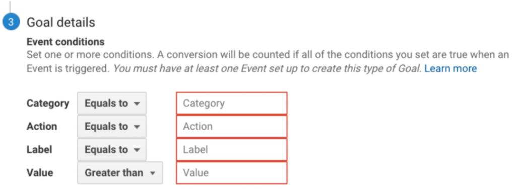 Google Analytics Goals - Advanced